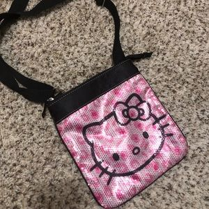 Hello Kitty Sequin Small Shoulder Bag/Purse